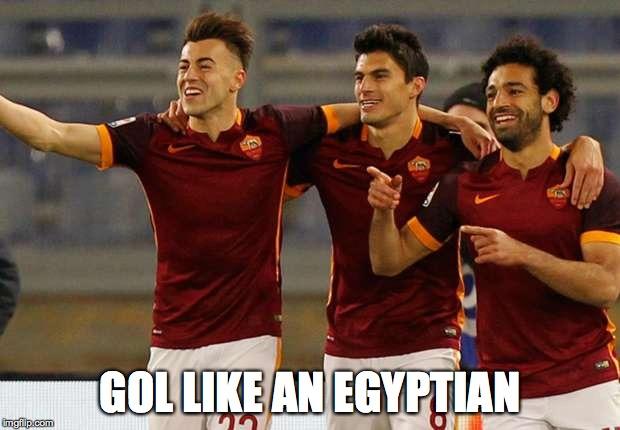 gol like an egyptian