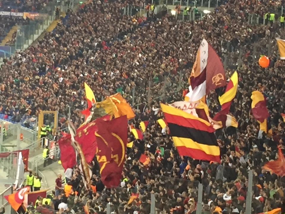 Roma Curva Sud Chelsea